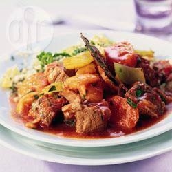 Recette couscous d'agneau à l'abricot – toutes les recettes allrecipes