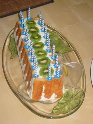 Recette de charlotte ananas coco litchis
