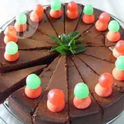 Recette gâteau chocolat, fraise et menthe du jardin – toutes les ...