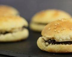 Recette mini burger au chocolat