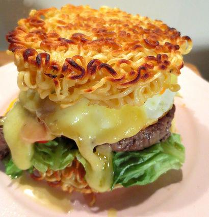 Recette de ramen burger ou la folie culinaire japonaise