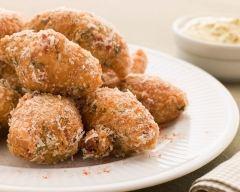 Recette beignets de morue à la noix de coco