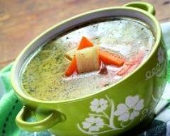 Recette bouillon de légumes maison