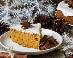 Recette gâteau au potiron et vanille