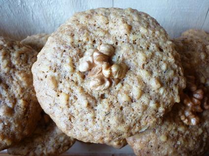 Recette de petits biscuits aux noix