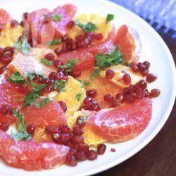 Recette salade d'agrumes à la menthe – toutes les recettes allrecipes