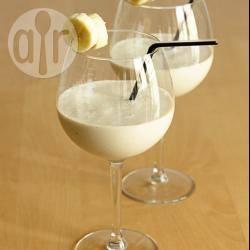 Recette lassi banane-smoothie yaourt banane (milk