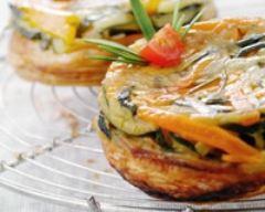 Recette tarte tatin de légumes