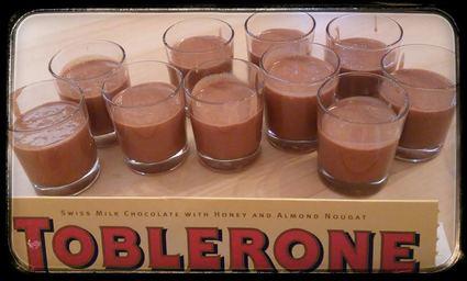 Recette mousse de toblerone (flan, mousse)