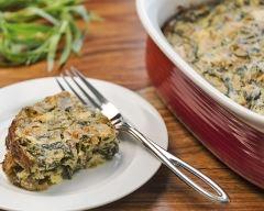 Recette gratin gourmand d'épinards à la ricotta et au parmesan ...