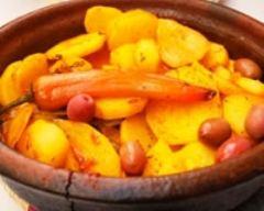 Recette tajine de pommes de terre
