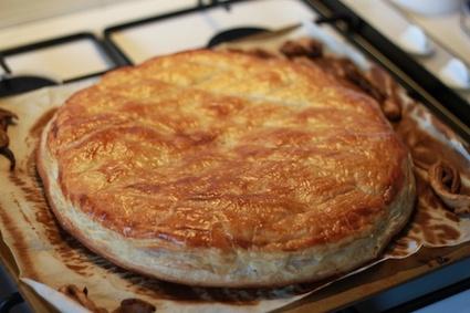 Recette de galette des rois frangipane, framboise et myrtilles
