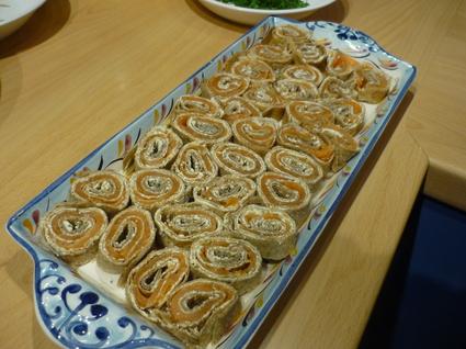 Recette de galette de sarrasin au saumon fumé et fromage