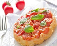 Recette tarte tatin tomates cerises et chèvre