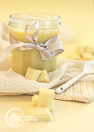 Recette pâte à tartiner chocolat blanc (dessert divers)