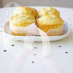 Recette muffins à la fève tonka avec un cœur de confiture de ...