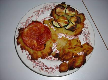 Recette de galettes de pommes de terre à l'emmental râpé