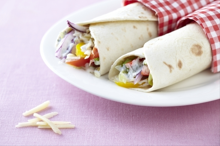 Recette de wrap végétarien facile et rapide