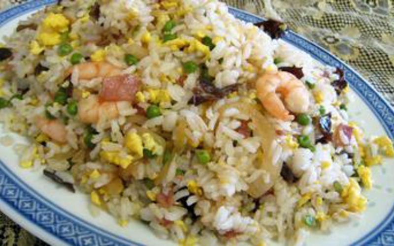 Recette riz cantonais économique et simple > cuisine étudiant