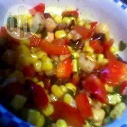 Recette salade mexicaine aux haricots noirs – toutes les recettes ...