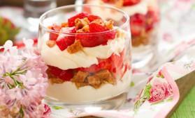 Trifle en verrine pour 4 personnes