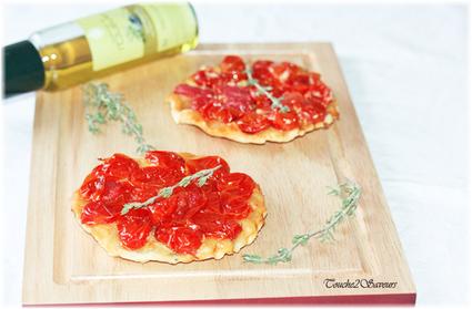 Recette de tatin aux tomates cerise