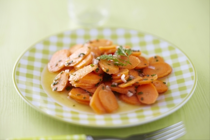 Recette de salade de carottes au jus d'orange et cumin rapide