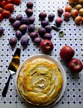 Gâteau aux pommes facile pour 4 personnes