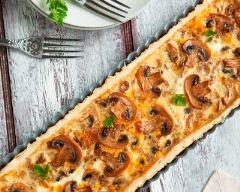 Recette tarte aux champignons facile