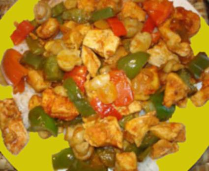 Recette de curry de poulet à la banane