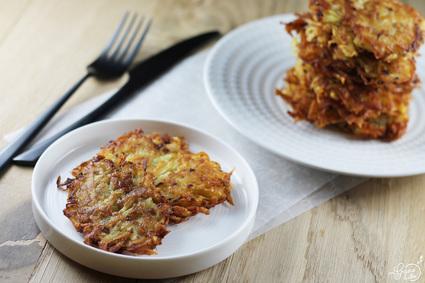 Recette de râpé de pommes de terre (grumbeerekiechle)