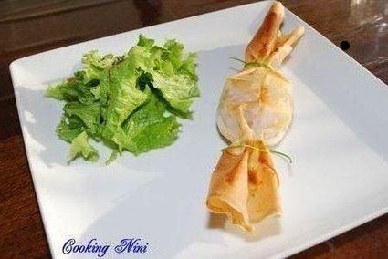 Recette de bonbons aux pommes et au foie gras