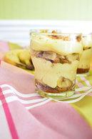 Recette de tiramisu spéculoos, bananes et caramel au beurre salé ...