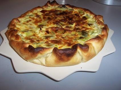 Recette de tarte aux poireaux rapide