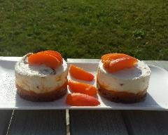 Recette cheese cake léger aux abricots