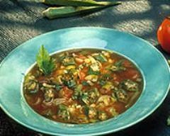 Recette soupe gombo au poisson