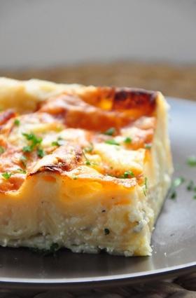 Recette de lasagnes blanches aux 3 fromages (comté, chèvre & bleu)