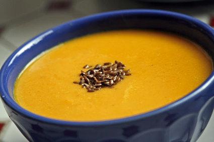 Recette de velouté fenouil-carottes au cumin