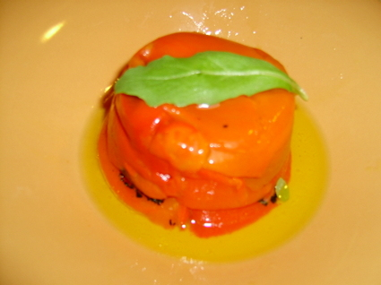 Recette de charlottes de poivron à la ricotta