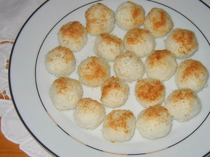 Recette boules coco (biscuits)